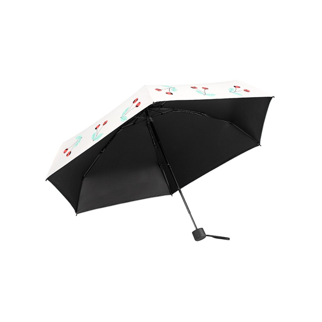 Teng Peng- Compact Travel Umbrella- Parasol Portable Folding Umbrella Sun Shade Anti-uv Fast Drying Windproof Travel Umbrella-Windproof Double Canopy Construction-Teflon Coating Household Umbrella