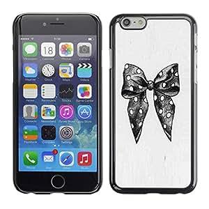 PC/Aluminum Funda Carcasa protectora para Apple Iphone 6 Polka Dot Pencil Sketch Fashion / JUSTGO PHONE PROTECTOR