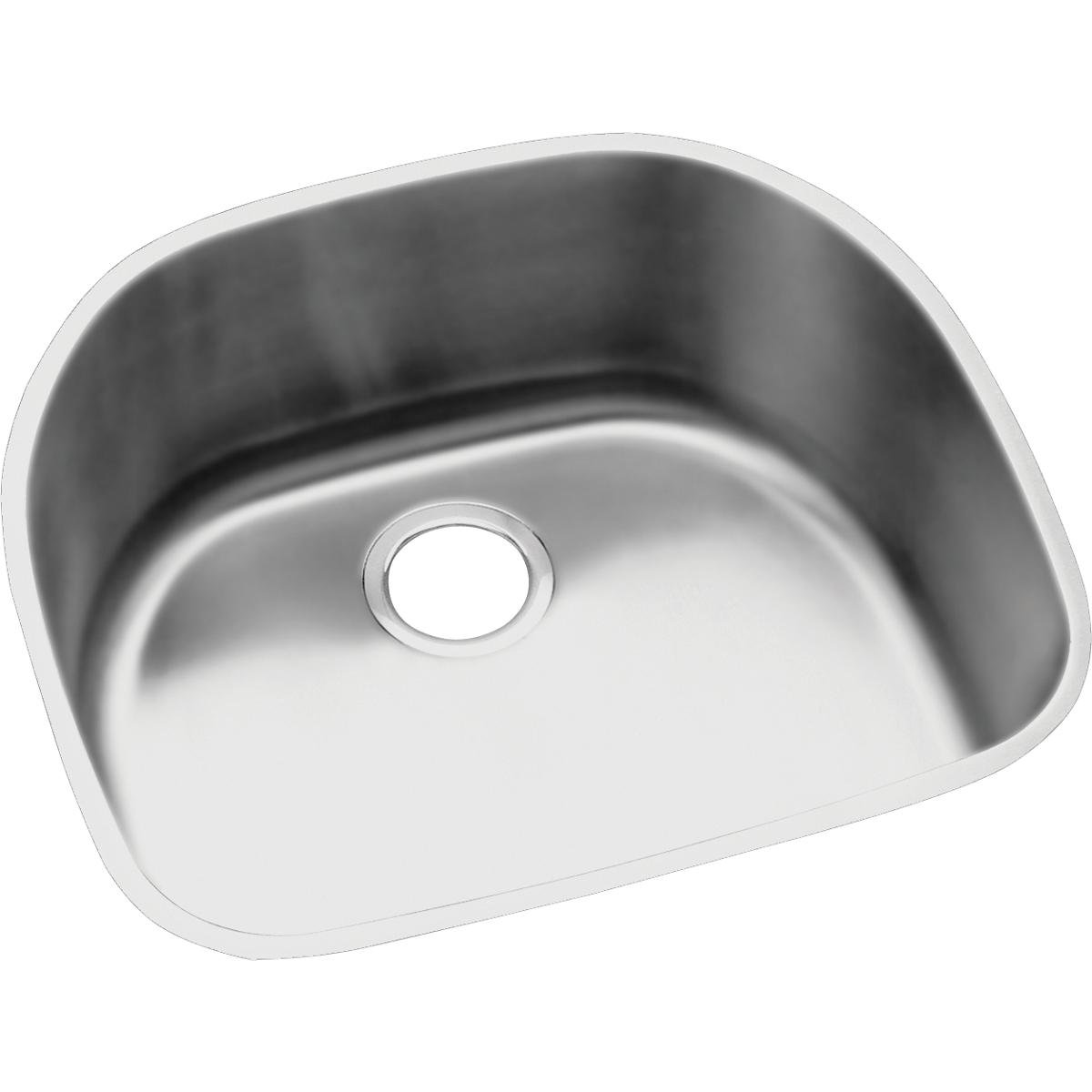 Elkay Lustertone ELUH211810 Single Bowl Undermount Stainless Steel Kitchen Sink