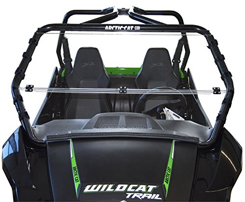 Arctic Cat Wildcat TRAIL / Sport - Full Folding Scratch Resistant UTV Windshield. The Ultimate in Side By Side Versatility!Premium Polycarbonate w/ Hard CoatMade in America!! by Clearly Tough (Image #9)