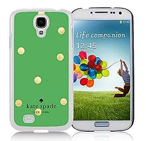 Unique Custom Designed Kate Spade Samsung Galaxy S4 I9500 i337 M919 i545 r970 l720 White Phone Case 016