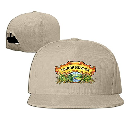 Sierra Nevada cerveza Snapback Gorra de béisbol sombrero plano