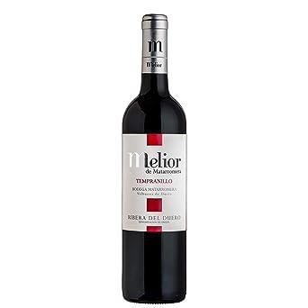 Melior de Matarromera - Vino Rivera del Duero tinto - 14º, paquete de 3 x 0.75 l