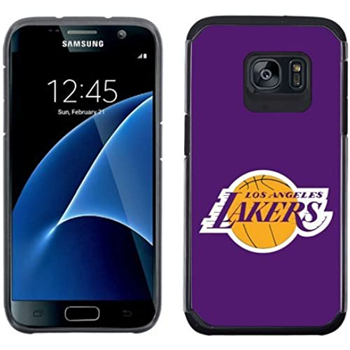 SAMSUNG GALAXY S7 CASE - Official NBA Licensed NetGen Team Logo Dual Layer Hybrid Cellphone Case (Los Angeles Lakers) Sales