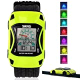Kids Watches Digital LED Waterproof 3D Car Silicone Children Toddler WristWatches Time Gift for Boys Girls Little Child