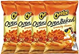 Cheetos Over Baked Crunchy Cheese Gluten Free Snacks 7.63 Oz Snack Care Package for College, Military, Sports (4)
