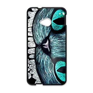 Happy Unique owl eye Cell Phone Case for HTC One M7