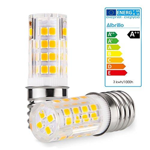 Albrillo E17 LED Bulb Microwave Oven Appliance Light Bulb