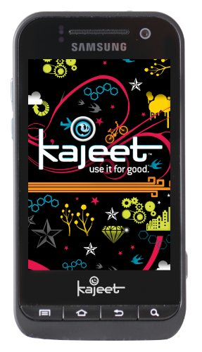 Samsung Conquer Android Prepaid Phone, Black (Kajeet)