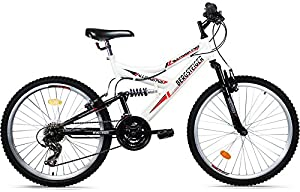 Bergsteiger Mountainbike 26 Zoll /All Mountain/, MTB, 18 Gang Shimano,...