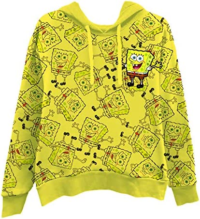 SpongeBob SquarePants Ladies Fashion Shirt Long Sleeve Tee