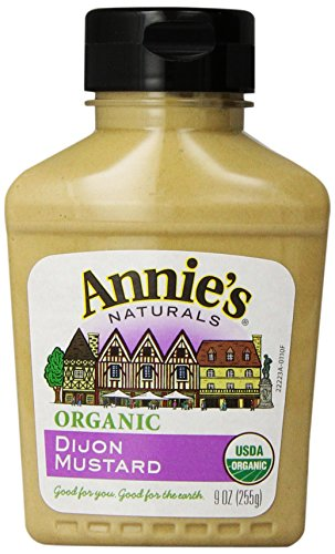 Annie's Organic Dijon Mustard 9 oz. Bottle Dijon Gluten Free Mustard