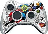 DC Comics Superman Xbox 360 Wireless Controller Skin - Flying Superman Vinyl Decal Skin For Your Xbox 360 Wireless Controller