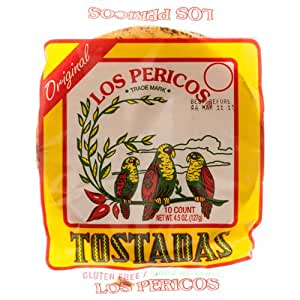 Amazon.com: New 303755 Los Pericos Tostadas Shells 4.5 Oz