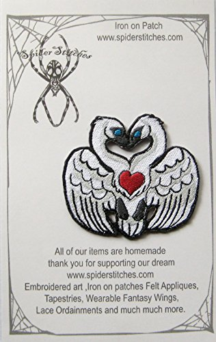 (Self Love Two Headed Swan Sigil Crest Iron on Patch)