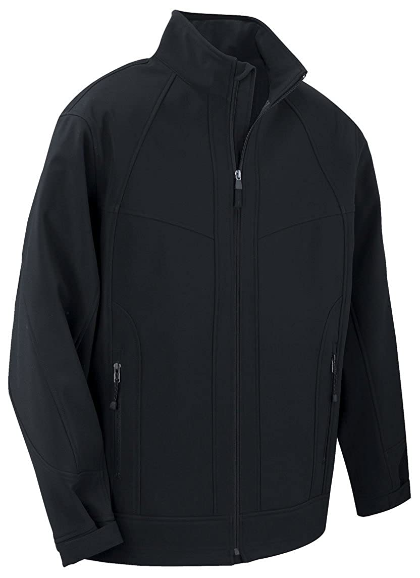 3X Black w// Lead Mens Mens 3-layer Weather Technology Soft Shell Jacket