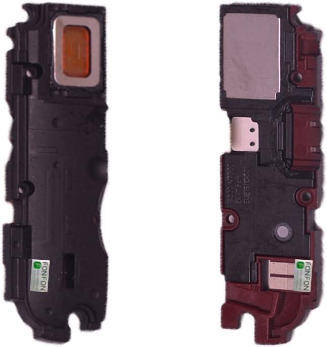 FONFON Bell Ringer Timbre Altavoz Antena de bocina para Samsung Galaxy Note N7000 i9220 Negro