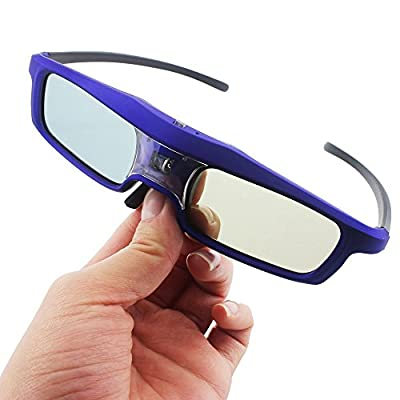 XGIMI G102L DLP 3D Glasses DLP-Link Liquid Crystal Shutter Rechargeable 3D Glasses for Z4 Aurora, Z4X and other DLP 3D Projector TV