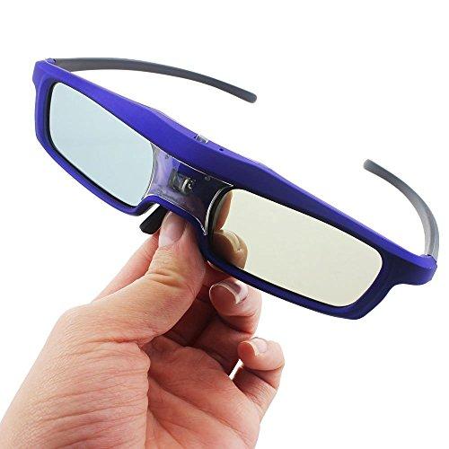 Active 3D Glasses DLP-Link Liquid Crystal Shutter Rechargeable 3D Glasses for JmGO XGIMI All DLP Technology 3D Projectors