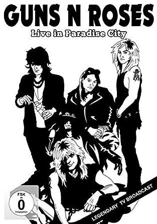 Guns N Roses Live In Paradise City Dvd Amazon Co Uk Guns N