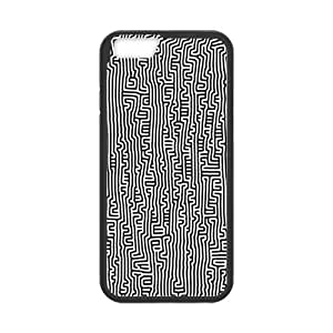 iPhone 6 Case, [Keith Haring] iPhone 6 (4.7) Case Custom Durable Case Cover for iPhone6 TPU case(Laser Technology)