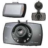 "FUSHITON 2.7"" LCD Vehicle HD Dash Camera DVR Cam Recorder Car Video Night Version G-sensor Support 32G TF Card Parking Monitor Motion Detection Loop Recording"