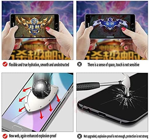 JIANGNIUS Screen Protector 25 PCS Soft Hydrogel Film Full Cover Front Protector with Alcohol Cotton Scratch Card for Galaxy A30