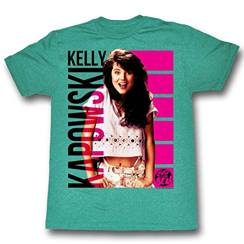 Saved by The Bell Men's Kelly Kapowski T-shirt, S to XXL