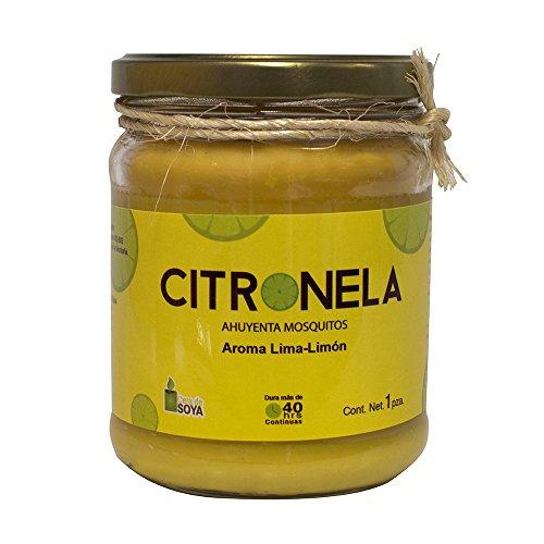 PISUMMA Vela Citronela con Distitnos Aromas (Lima-Limon)