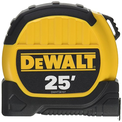 DEWALT 25' TAPE MEASURE DWHT36107 10' STANDOUT BRAND NEW HEA