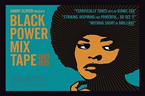 - Tomorrow sunny Black Power Mix Tape Movie Poster Angela Davis Fabric Silk Poster Print Great Pictures On The Wall -24x36 inch Art Silk Poster