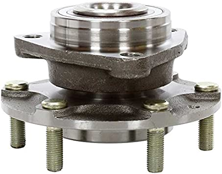 AutoShack HB612290PR Pair of 2 Wheel Bearing Hub Rear Driver and Passenger Side Wheel Hub Bearing and Assembly 5 Lugs with ABS Replacement for 2004-2006 Chrysler Pacifica