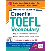 McGraw-Hill Education Essential Vocabulary for the TOEFL® Test with Audio Disk