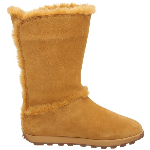 calf Timberland Wide Womens Mukluk Fur Pullon Mid Fashion Boots FrwprqYg1x
