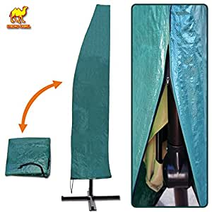 Amazon.com: STRONG CAMEL Patio Umbrella Protective Winter ... on Patio Cover Ideas For Winter id=18098
