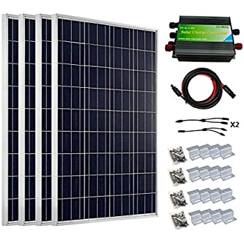 Amazon Com Eco Worthy 400 Watts Solar System Kit 4pcs