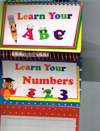 Wipe Off Learning Board W Dry Erase Marker Set Of 2
