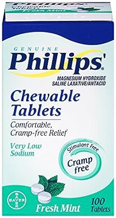 Phillips Tablets, Mint, 100 Count by Phillips: Amazon.es: Salud y cuidado personal