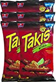 Barcel Takis Nitro Habanero & Lime Tortilla Chips Snack Care Package for College, Military, Sports 9.9 oz bag (6)