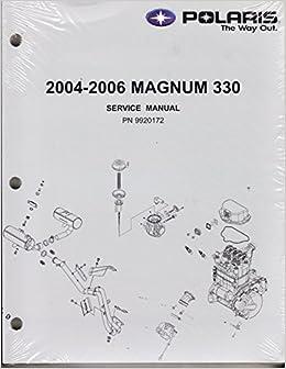 2003 polaris atv 4 wheeler magnum 330 & 500 service manual p/n.