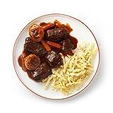 Tyson Tastemakers, Red Wine Braised Beef with Creamy Gemelli Pasta, Serves 2