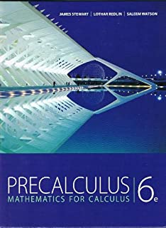 Pdf 6th precalculus edition calculus for mathematics
