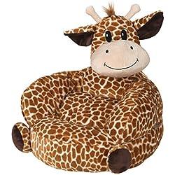 Trend Lab Children's Plush Character Chair, Giraffe, Tan