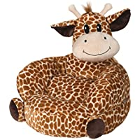 Trend Lab Childrens Plush Character Chair, Giraffe, Tan