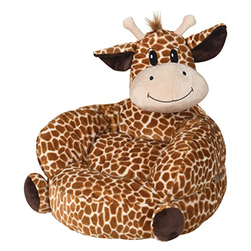 - Trend Lab Children's Plush Giraffe Character Chair