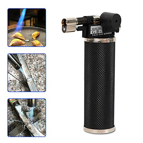 (Welding Torch, TBVECHI Portable Fuser Welding Torch Handy Propane Gas Gold Silver Copper Jewelry Tool EWELRY TOOLS)