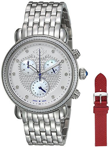 GV2-by-Gevril-Womens-Marsala-Swiss-Quartz-Stainless-Steel-Casual-Watch-ColorSilver-Toned-Model-9880