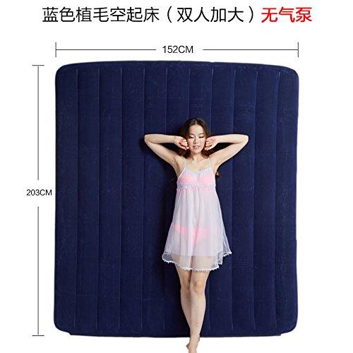 NVZJNDS tres capas de colchón de aire automático automático aire grueso cama de aire del hogar doble colchón inflable sola cama plegable de aire, 152  203  22 95135a