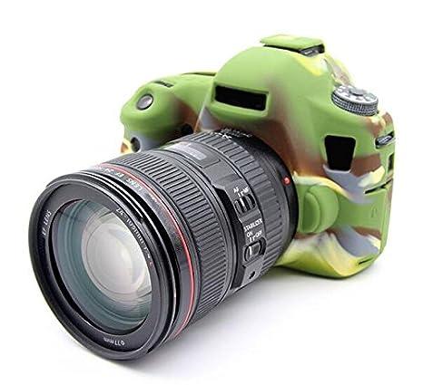 Hihouse - Carcasa de silicona impermeable para cámara Canon EOS 6D ...