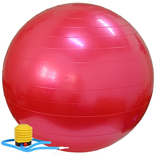 CLG-FLY Yoga ball thick explosion-proof weight loss slimming big yoga ball authentic fitness - Big Card Balance Y Gift
